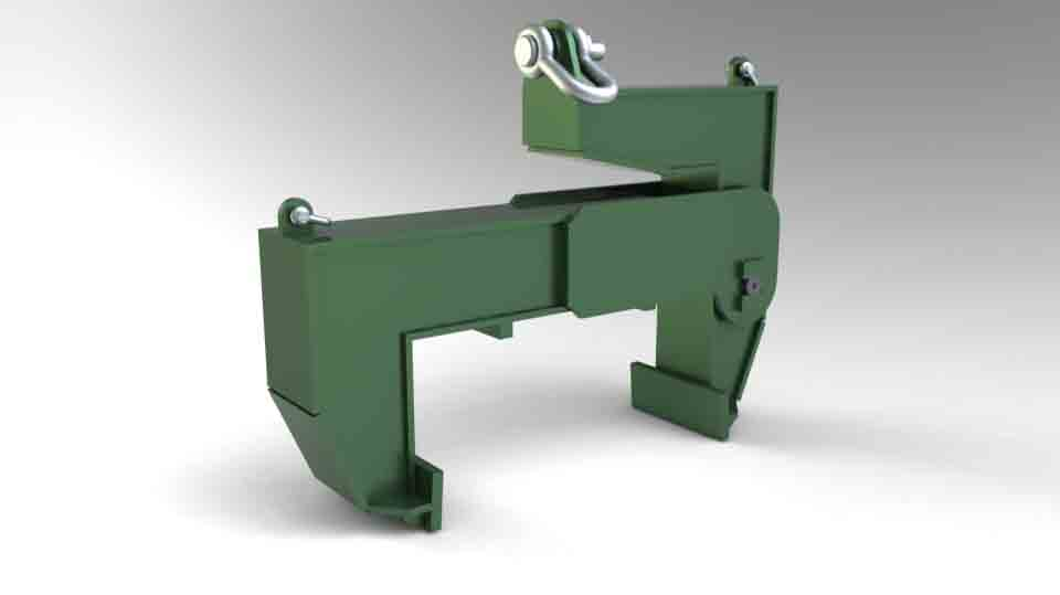 FRICTION GRIPPER FOR LIFTING 18 T BLOCKS