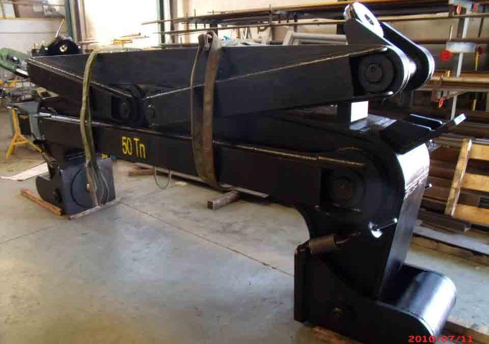 Maritime formwork Single-arm gripper friction 50tn (discontinued)