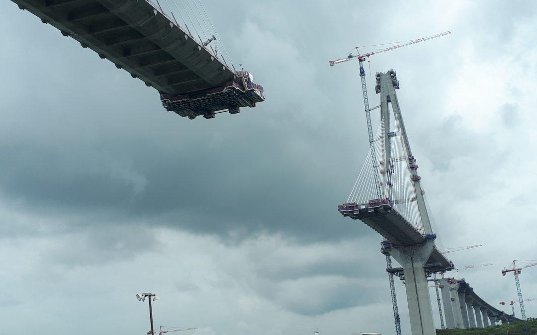 SPECIAL FORMWORK TRAVELLERS  FOR ATLANTIC BRIDGE