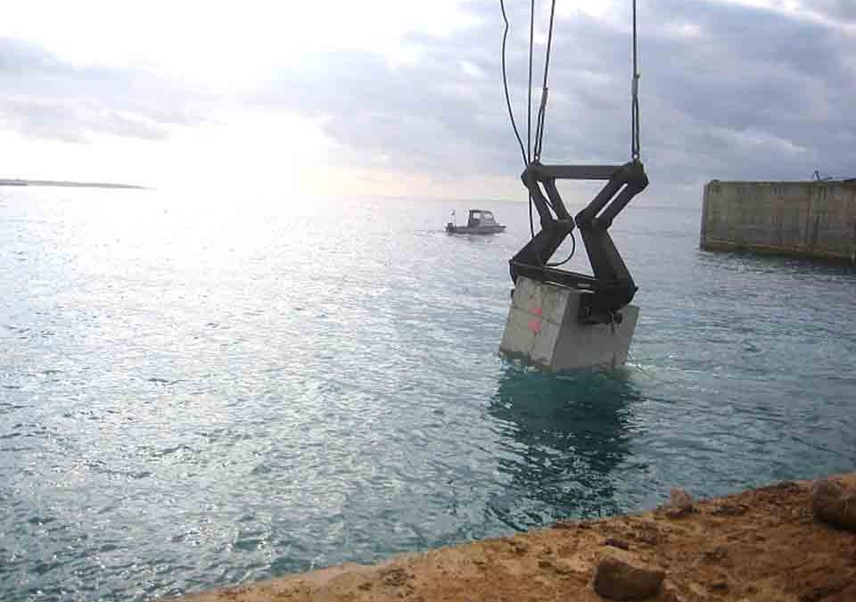 50 T FRICTION GRIPPER PORT OF CIUDADELA, MENORCA (discontinued)
