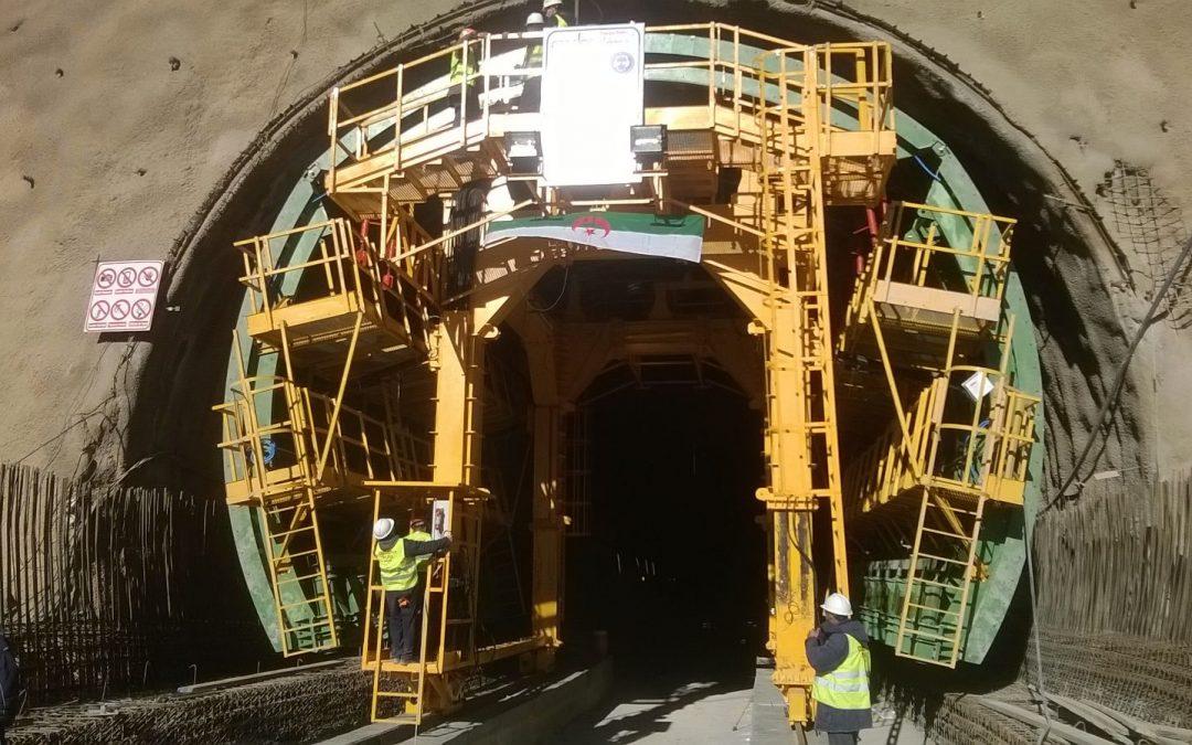 Tunnel Boughezoul-Djelfa