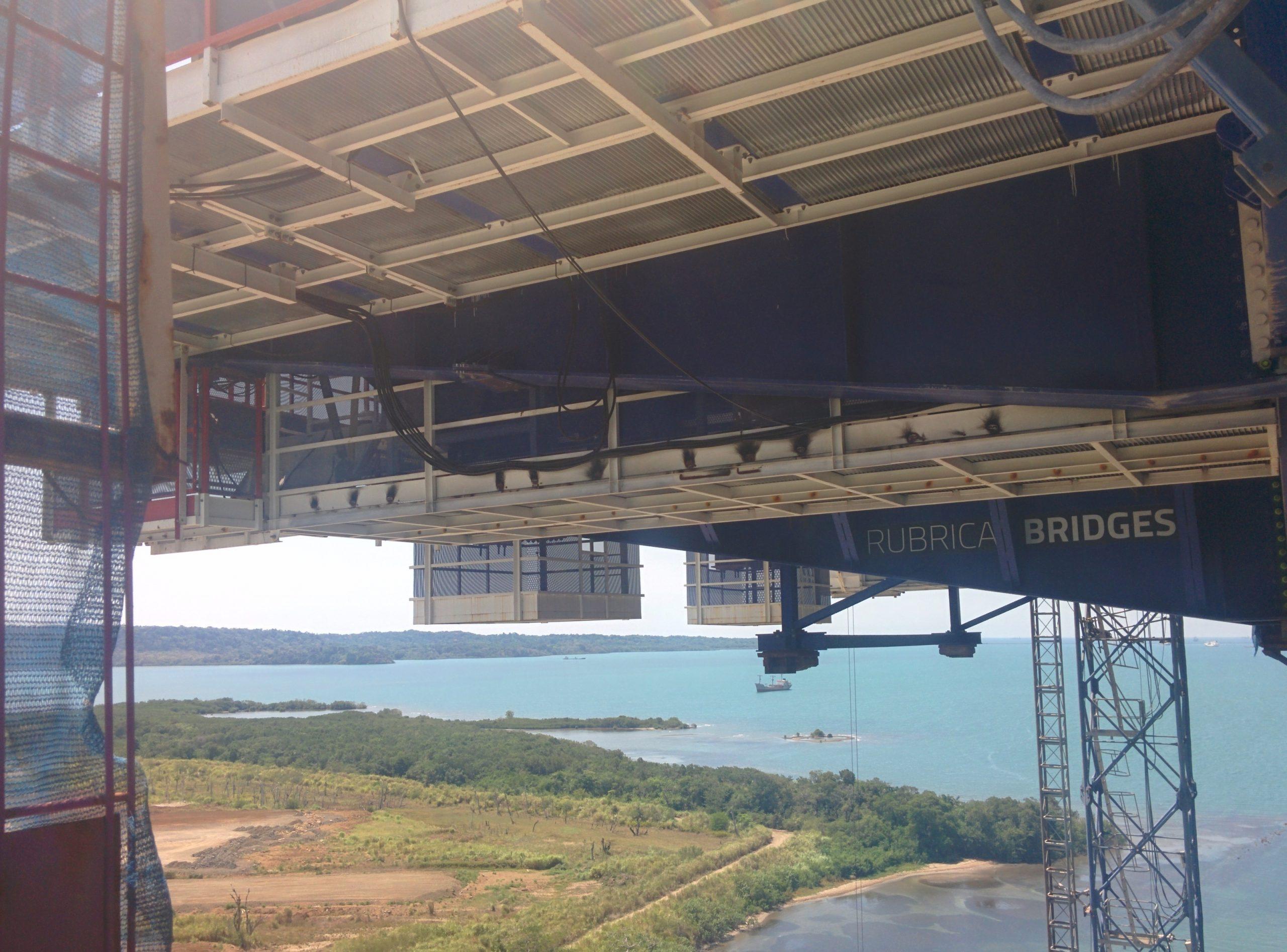 Special Formwork travellers Atlantic Bridge Panmá by RUBRICA BRIDGES