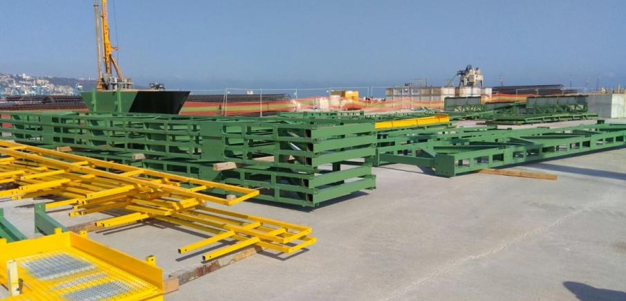 New project: Capping beam in Haifa (Israel)