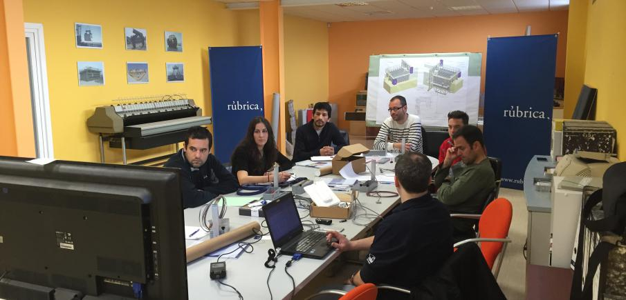 RUBRICA TRAINING, STRAIN GAUGES COURSE