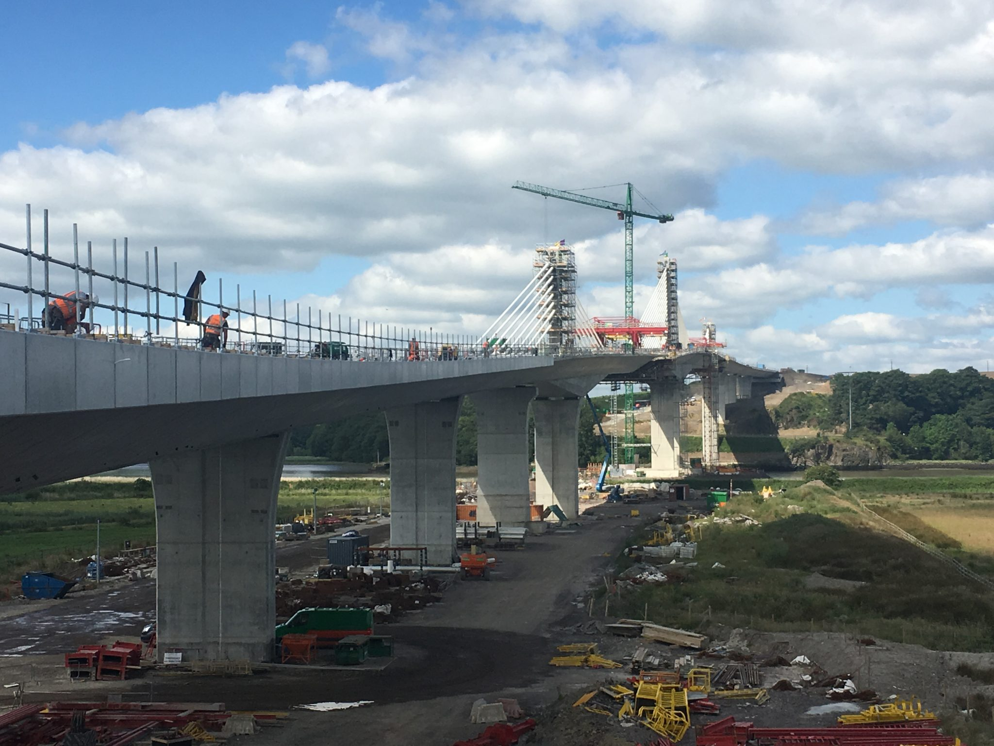 Special Formwork travellers New Barrow Bridge Ireland by RUBRICA BRIDGES