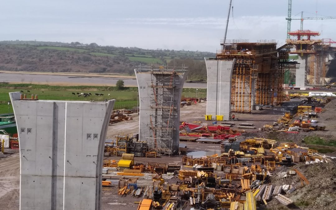 Special formwork travellers for N25 New Ross bypass