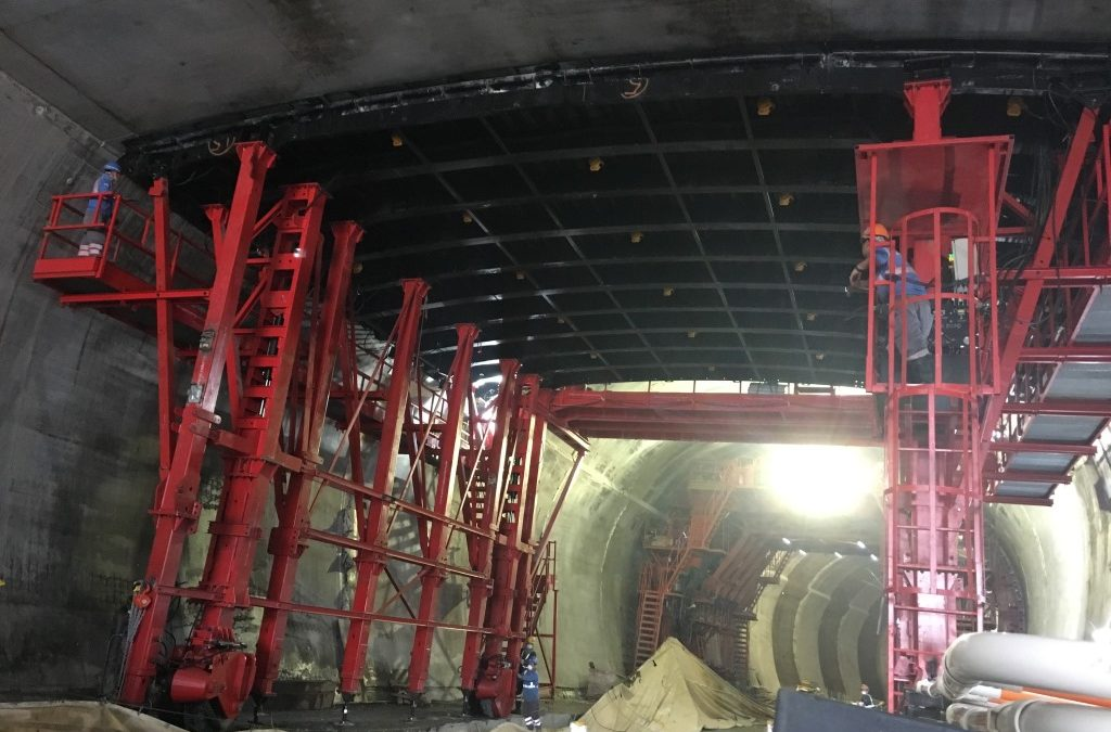 Tunnels formwork Princess Hill tunnel Hong Kong by RUBRICA TUNNELS