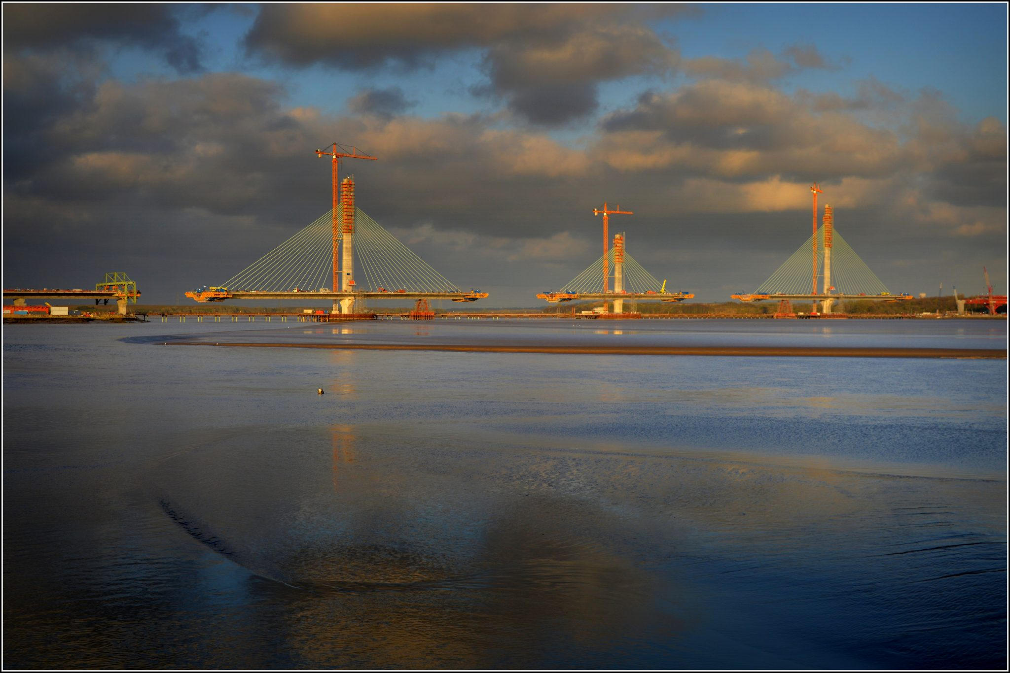 Special Form travellers for Mersey Gateway Bridge