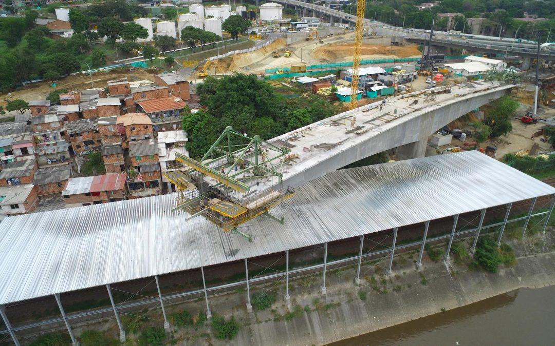 Carro de encofrado Puente Madre Laura