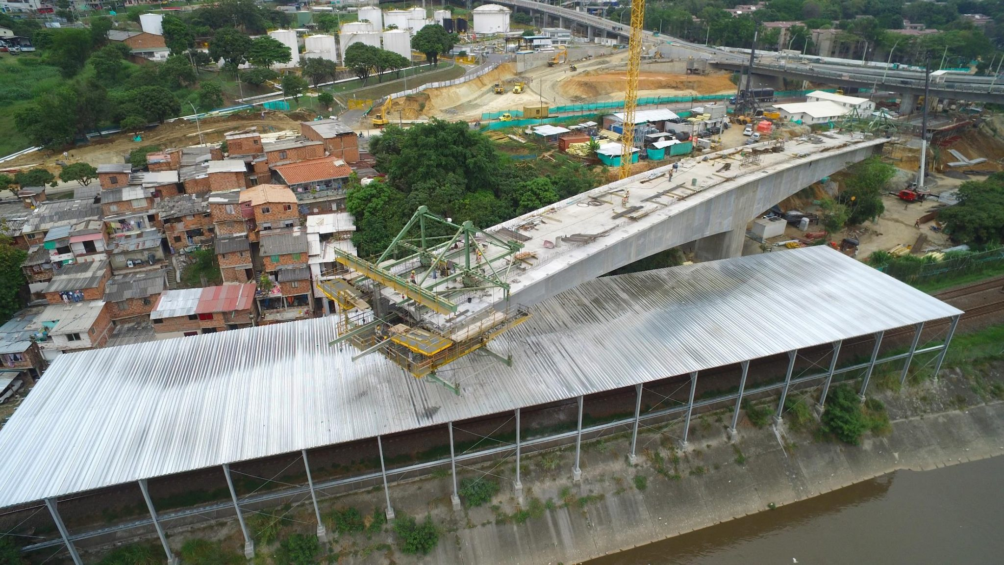 Formwork traveller in Madre Laura Bridge by RUBRICA BRIDGES
