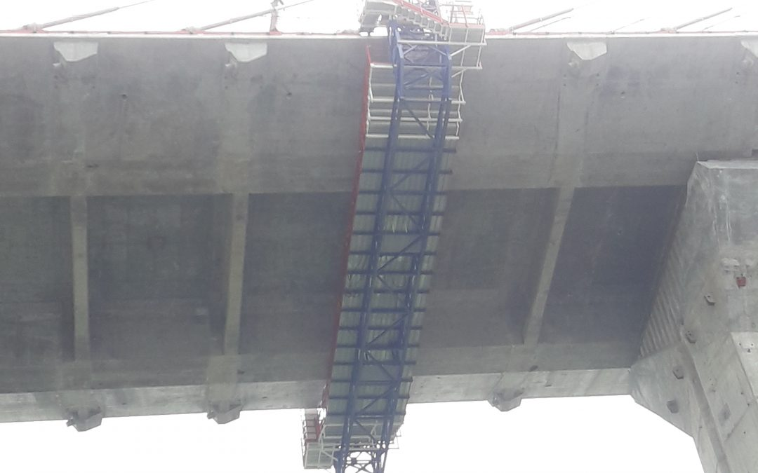Supervision formwork platform , Atlantic Bridge, Panamá