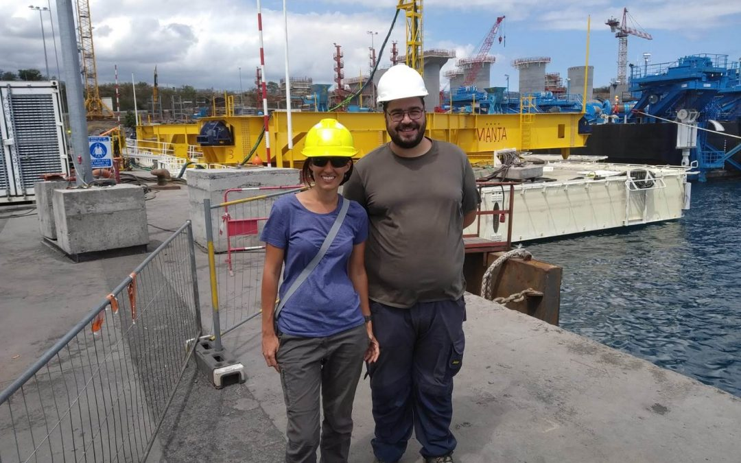 Our engineers giving assistance in Reunion Island