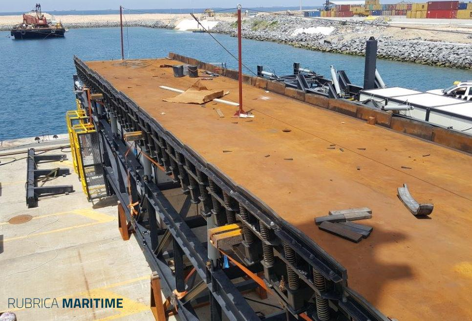 Maritime Formwork underwater form Lome Port by RÚBRICA MARITIME