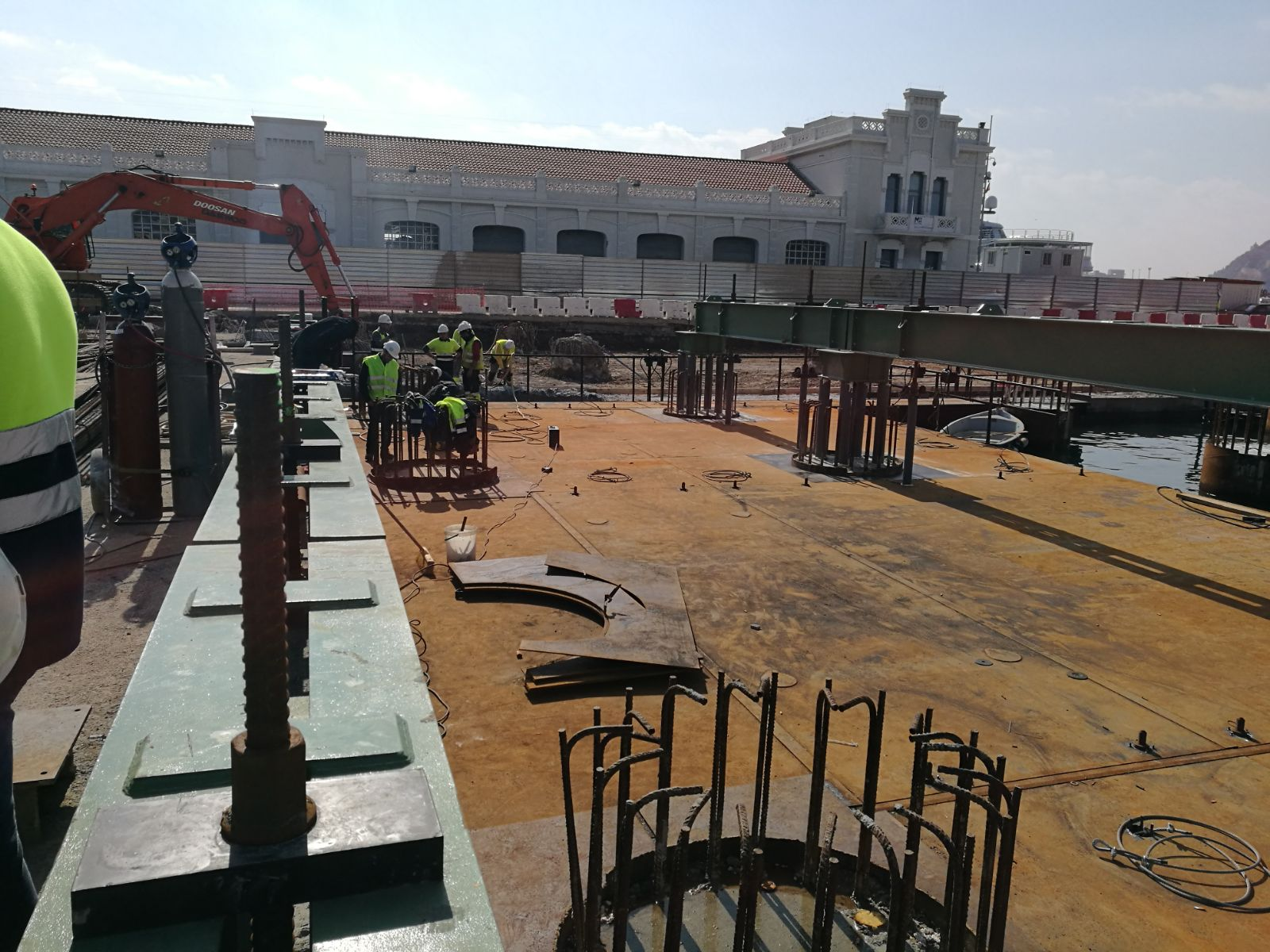 Maritime formwork Syncrolift Port Barcelona by Rúbrica Maritime