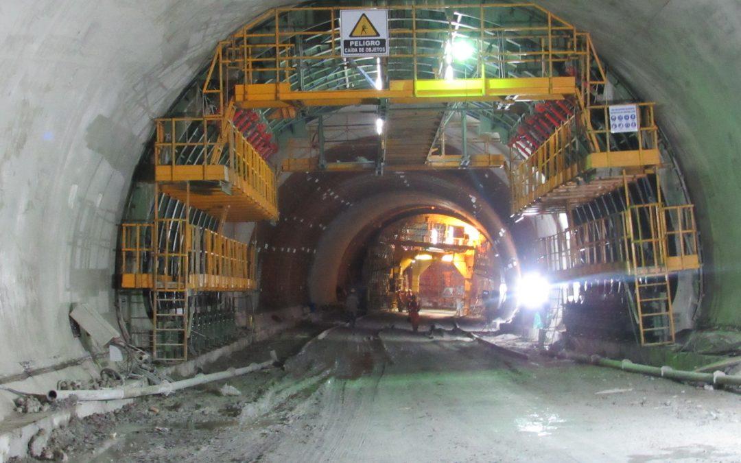 Encofrado para túnel Buenavista túnel RÚBRICA TÚNELES