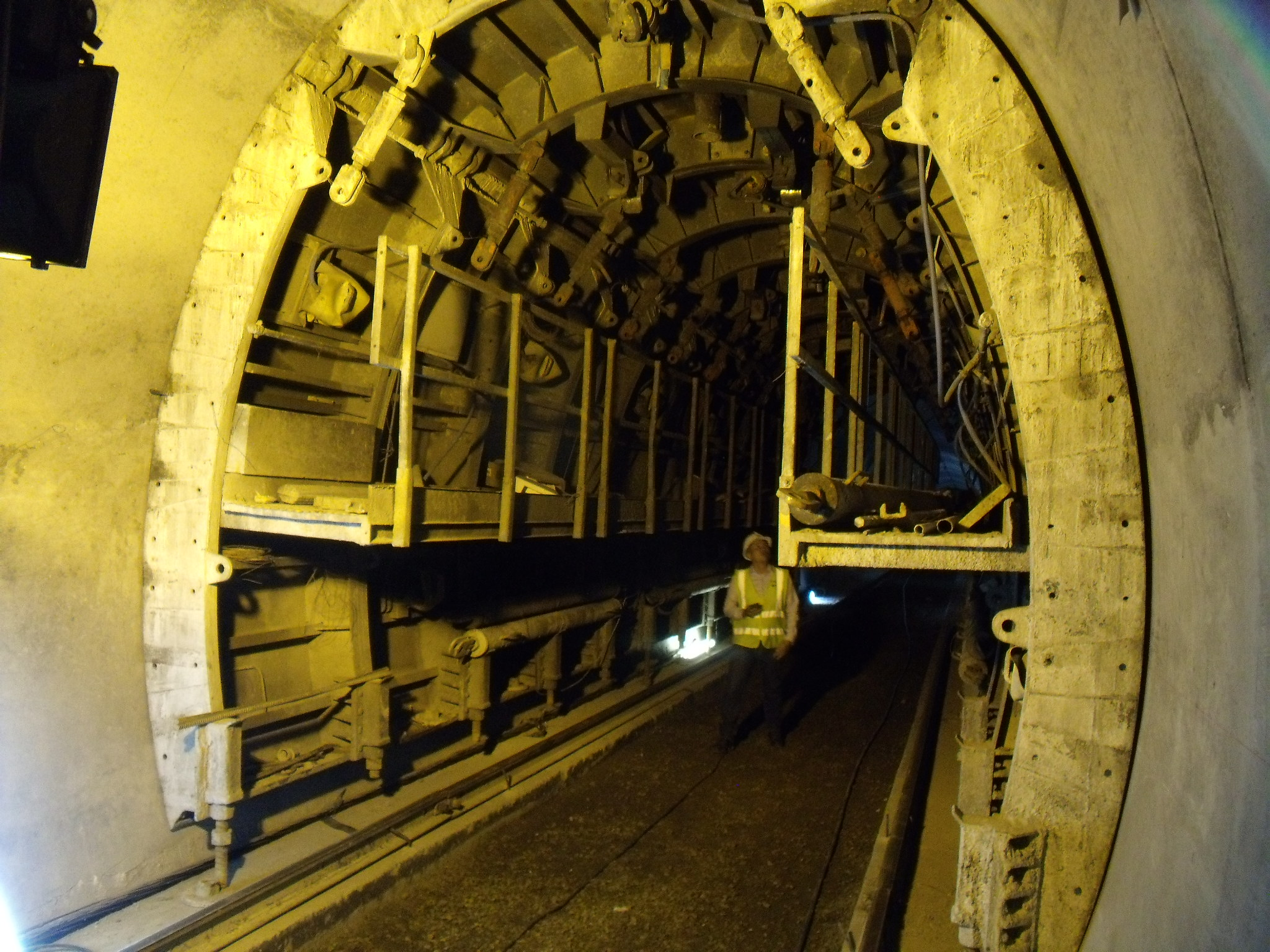 Bored tunnels formwork Piloto de la Línea by RÚBRICA TUNNELS