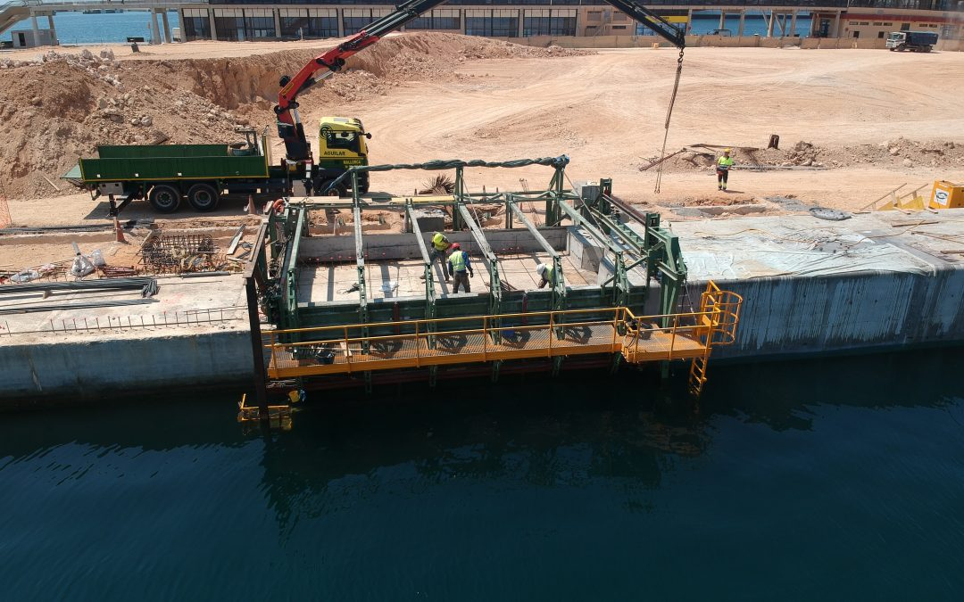 Special maritime formwork Rúbrica Engineering