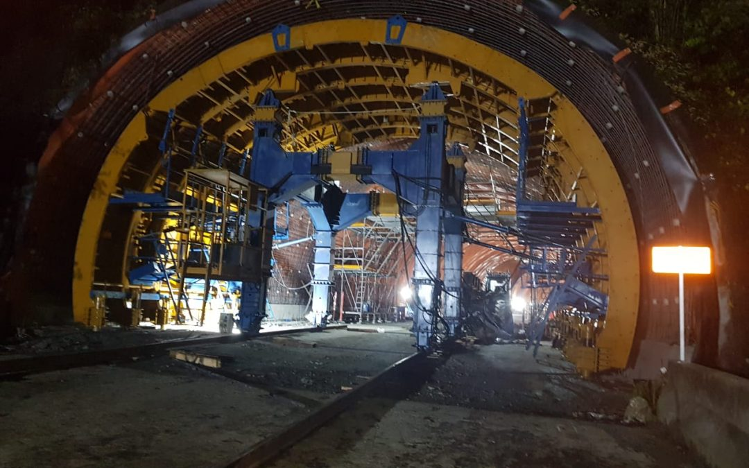 Tunnel formwork Quindio by RÚBRICA TUNNELS