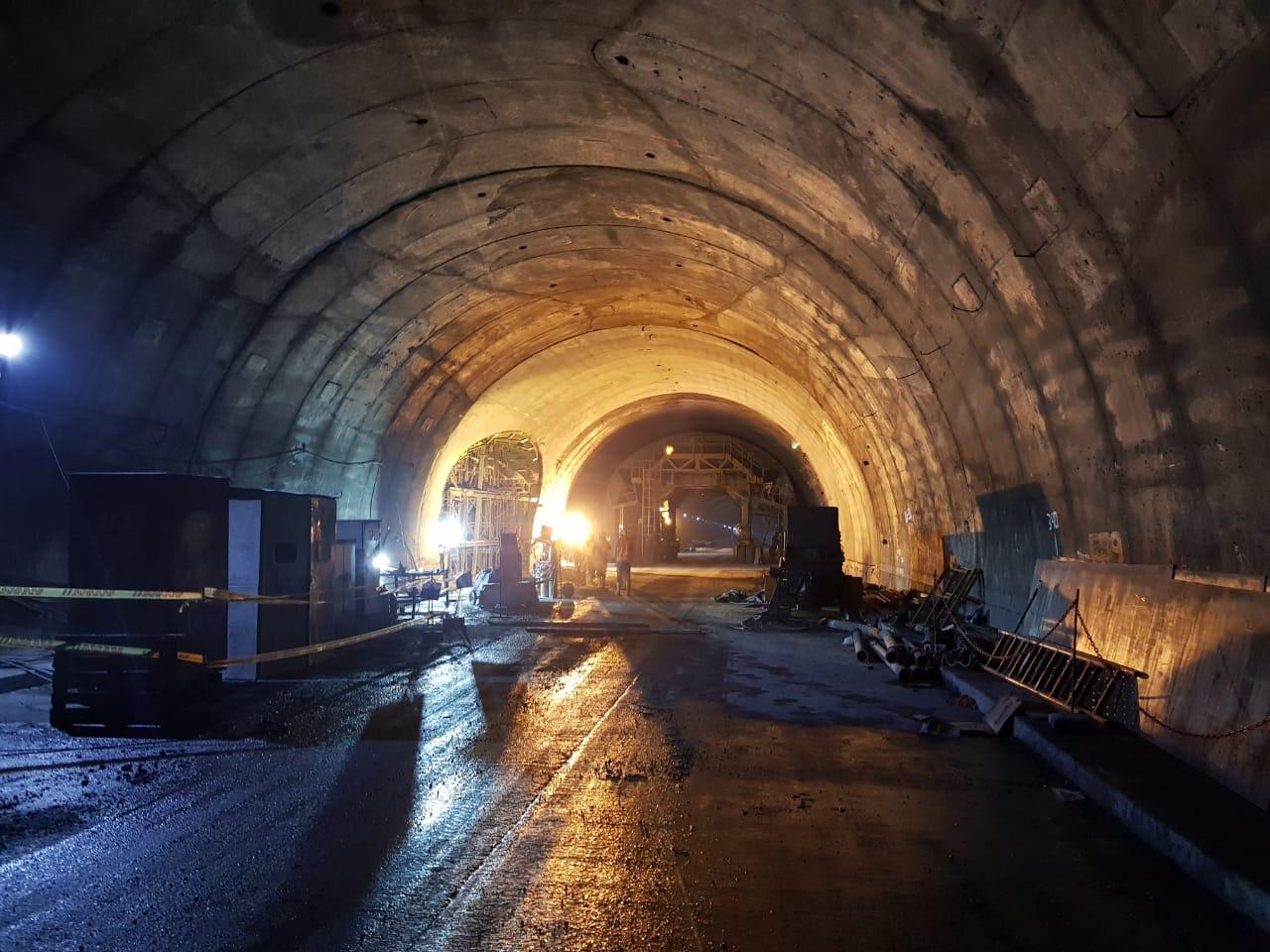 Encofrado de encuentro para el túnel de La Línea by RÚBRICA TUNNELS