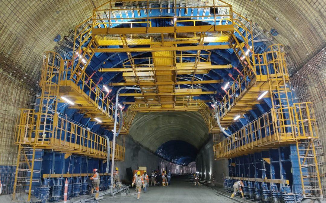 Self-supporting formwork tunnel Tesalia by Rúbrica Engineering