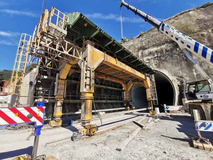 HSR tunnel formwork Mondragón-Elorrio-Bergara by RÚBRICA TUNNELS