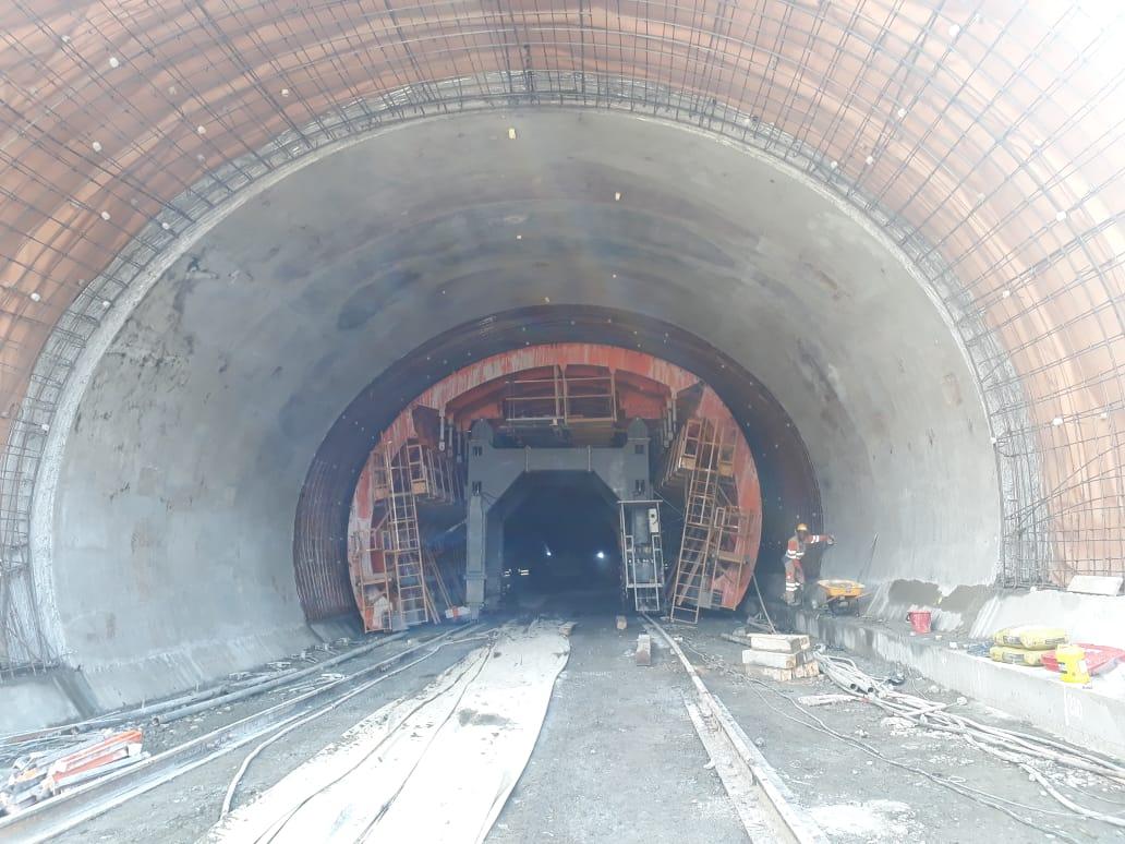 Encofrado para túnel en mina by RÚBRICA TUNNELS
