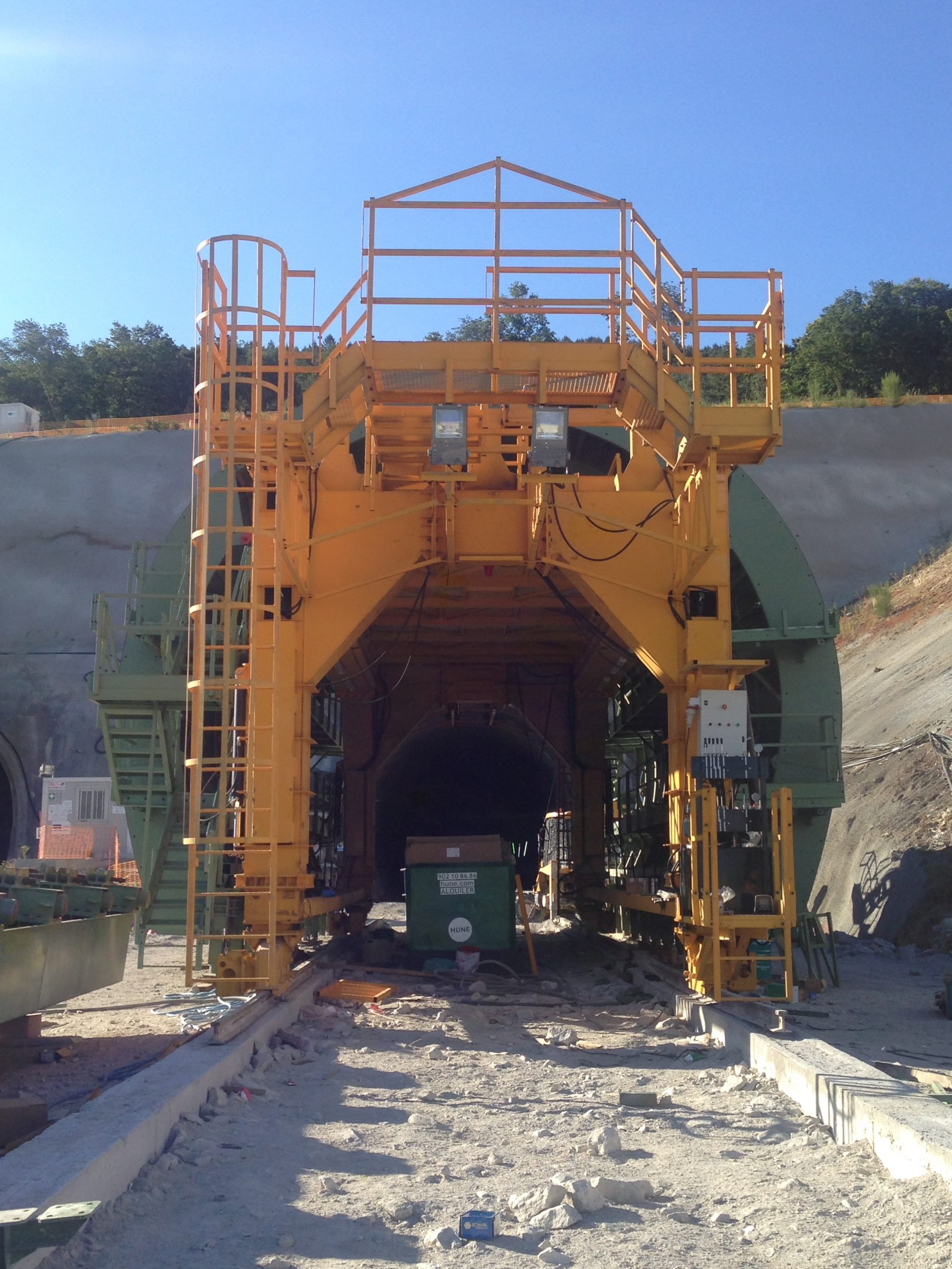Tunneling solution Túnel Prado by RÚBRICA TUNNELS