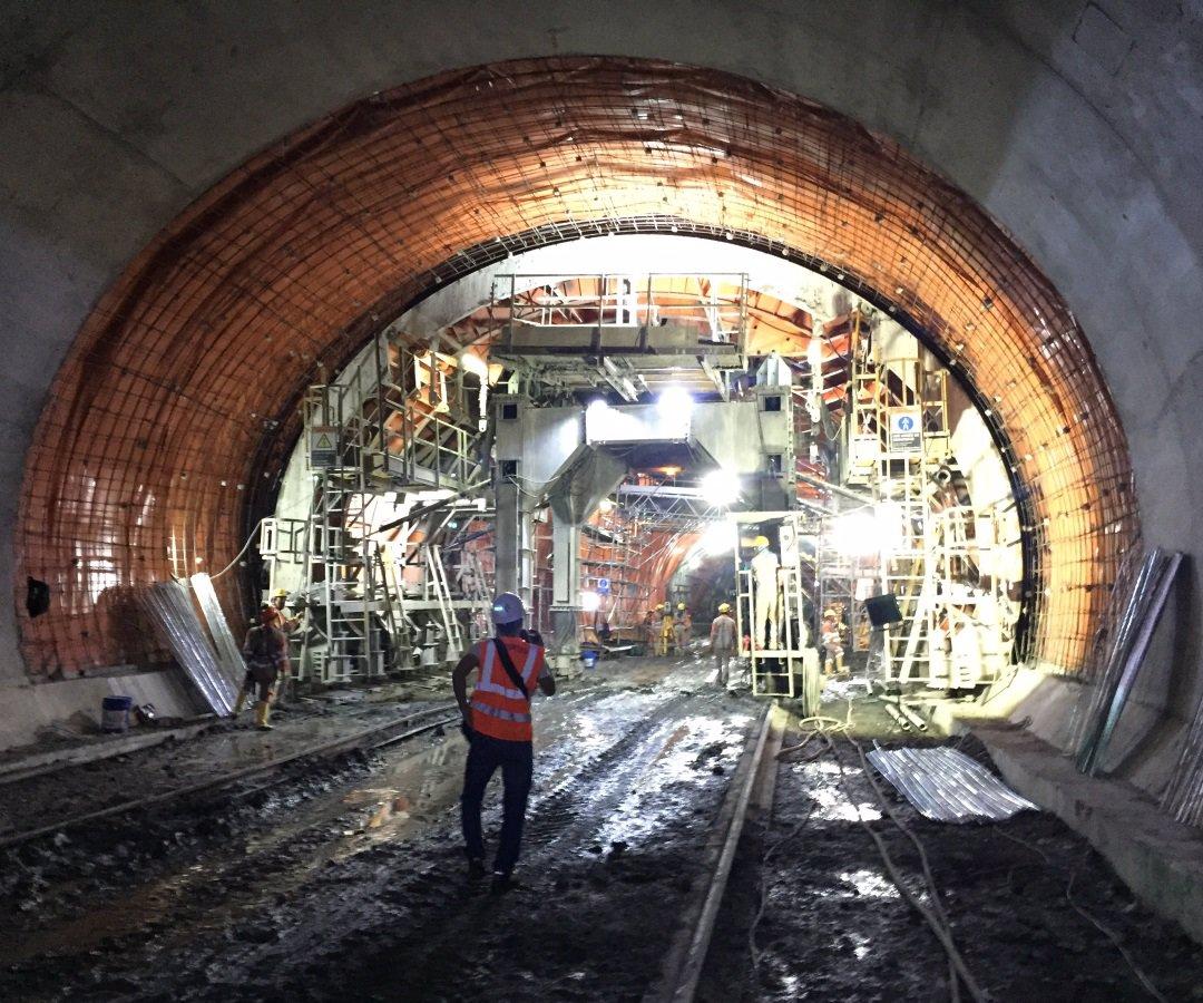 Mulatos mine tunnel formwork by RÚBRICA TUNNELS