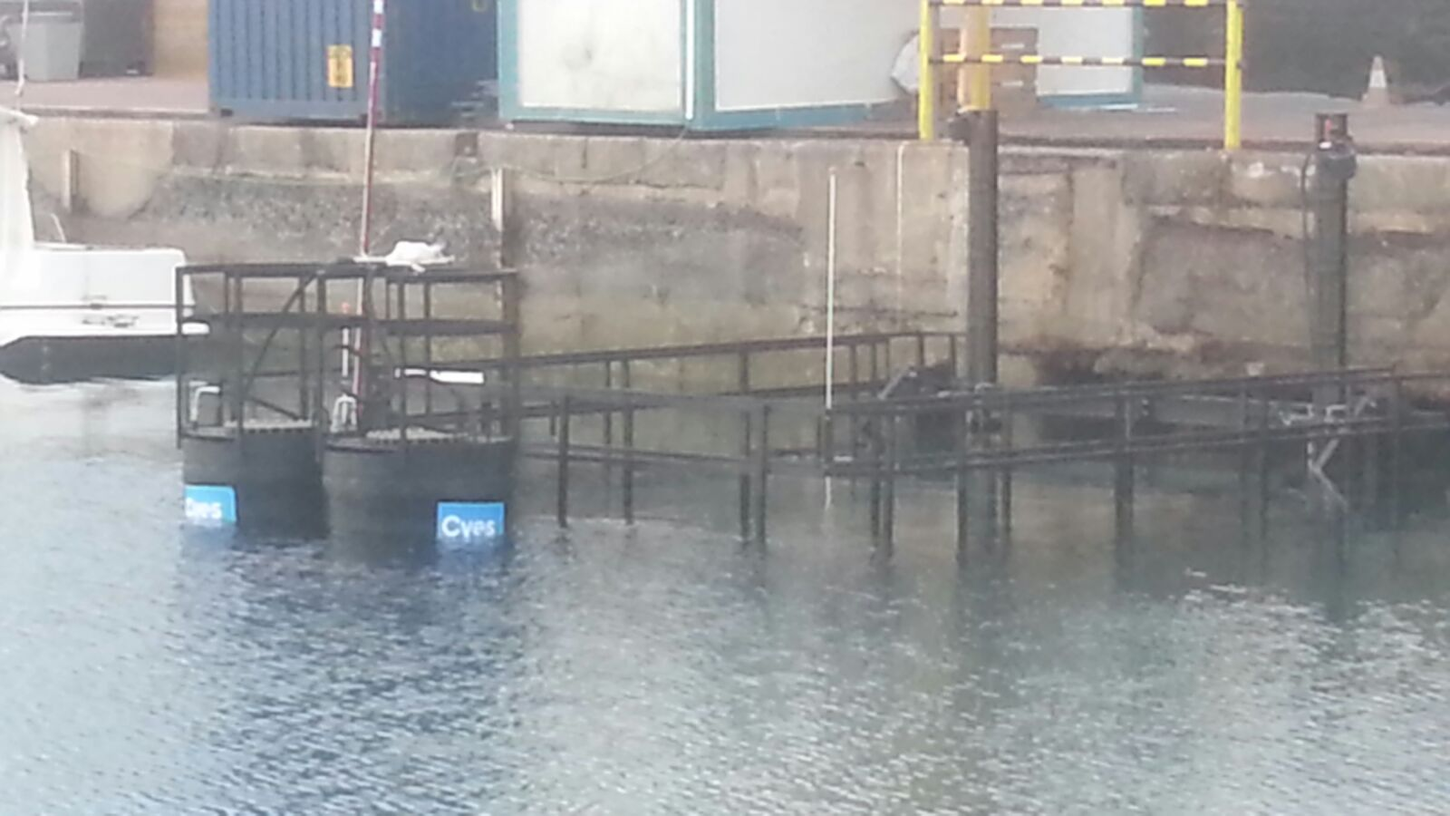 Submerged wall formwork Rosario port by RÚBRICA MARITIME